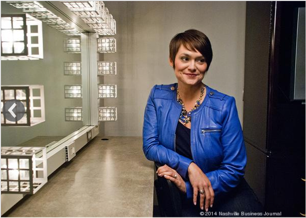 Andrea Farr Nashville Business Journal 40 Under 40