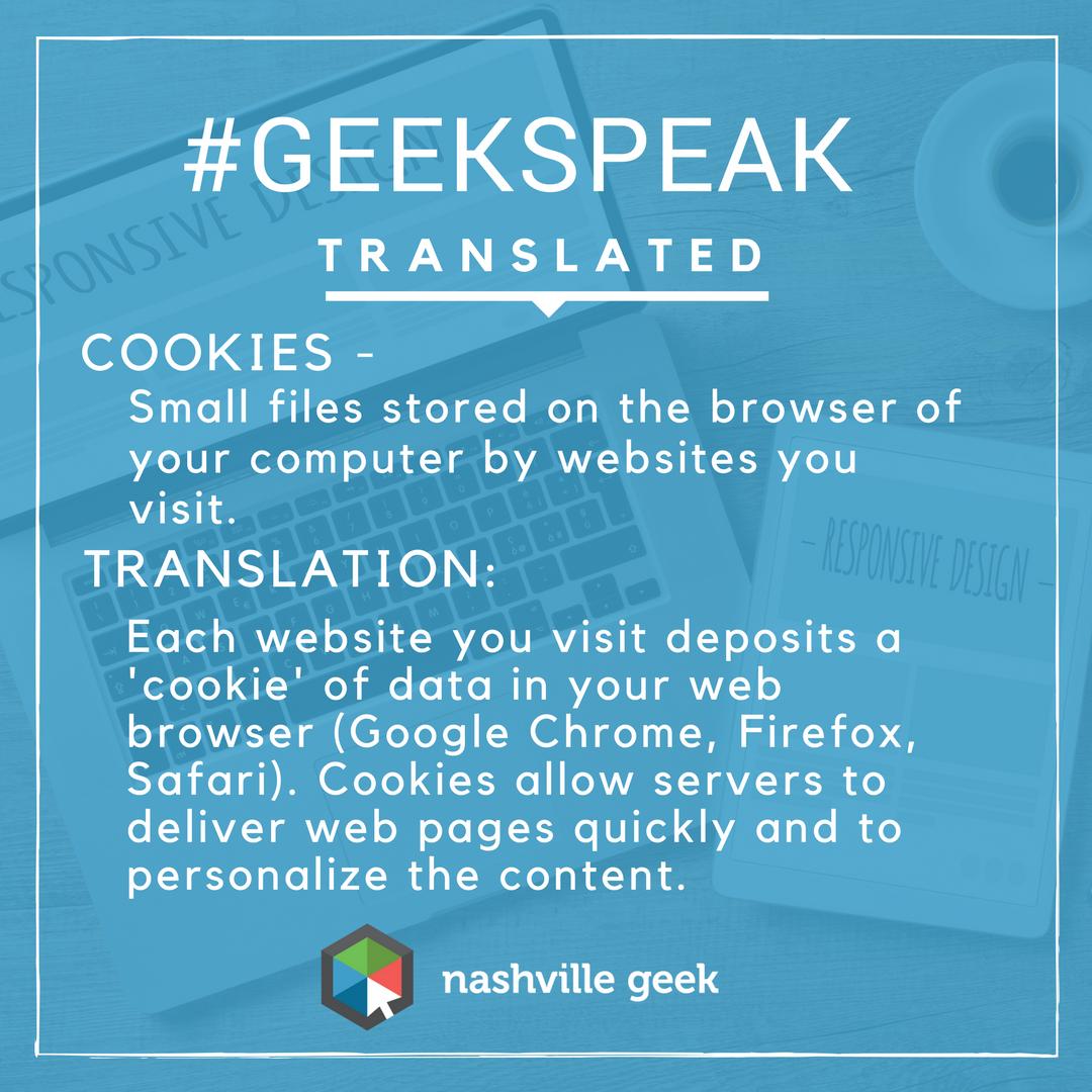 Website Cookies defined